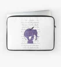 I am the only elephant Laptop Sleeve