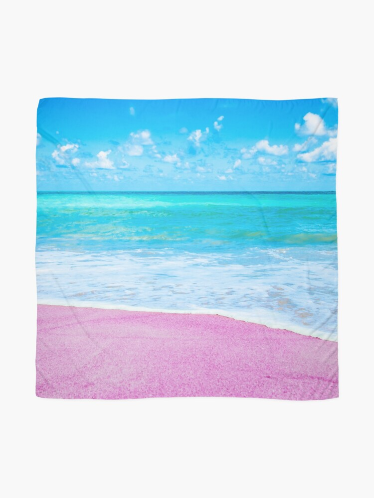 Alternate view of Pink Beach Vibes Scarf