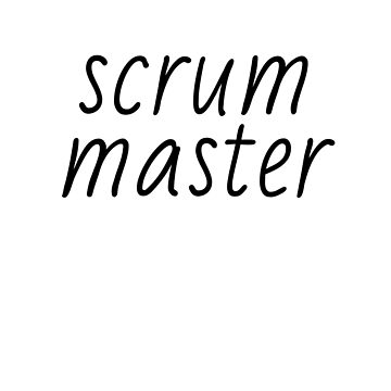 Scrum Master by shminoa