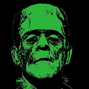 Frankenstein's Monster - Boris Karloff by holesinyourlung