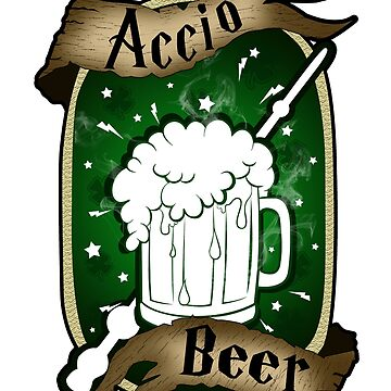 Accio Beer St Patrick's Day by WorldOfTeesUSA