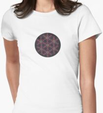Grid of Divine Love Women's Fitted T-Shirt