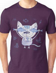 Sea cat illustration  Unisex T-Shirt