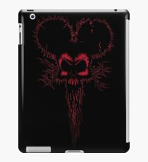 Hammer Mouse of Horror  red version iPad Case/Skin