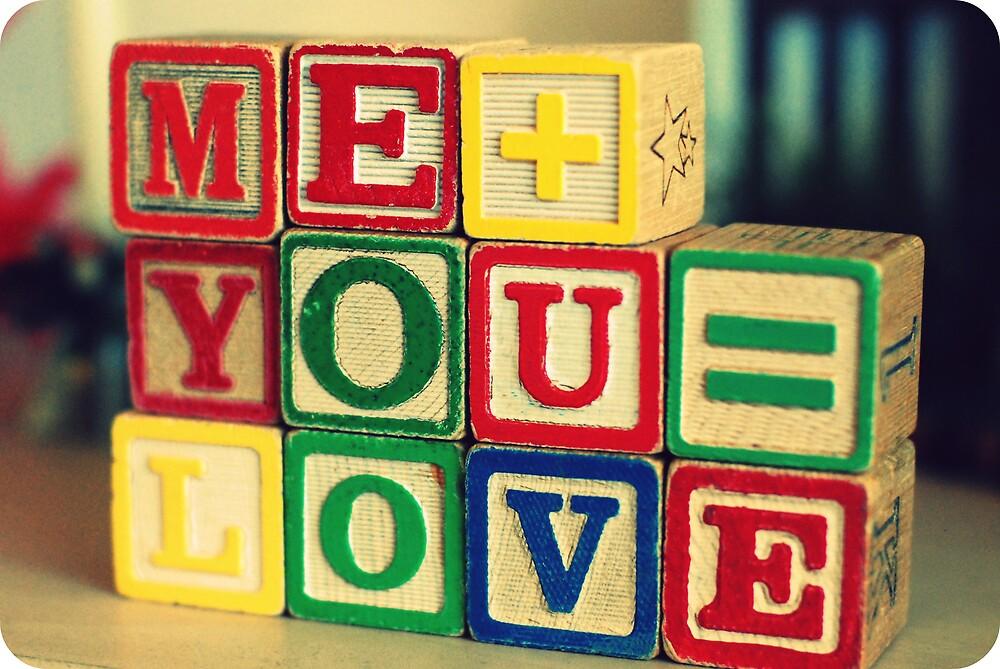 Me+You=Love by Vanda Noronha