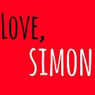 Love Simon by Brittany Conley