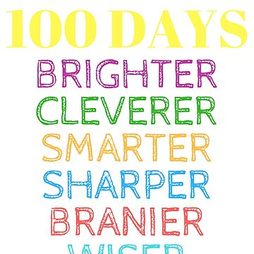 My Students are 100 Days Smarter T-Shirt for 100 Days of School by nfarishta