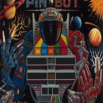 Pinbot Backbox Art by CWspatula