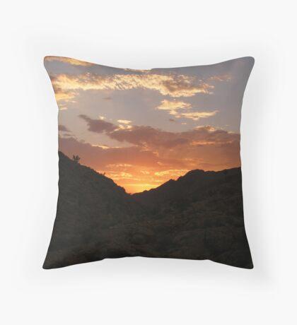 Nevada Sunset Throw Pillow