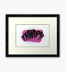 THWIP!! - Gwen Framed Print