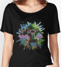 Invasion of the Body Squeezers Part 01 Women's Relaxed Fit T-Shirt