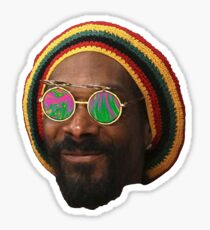 Psychedelic Snoop Sticker