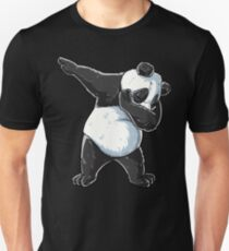 Dabbing Panda T Shirt Print Dab Bear Dance Men Women Kids Unisex T-Shirt