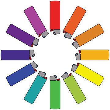 Lighter Color Wheel by emilyolive
