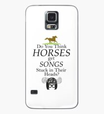 Do You Think Horses Get Songs Stuck In Their Heads? - Tina Belcher Case/Skin for Samsung Galaxy