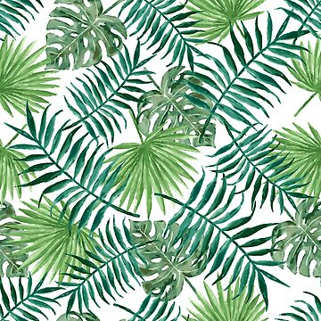 Tropical Palm Fronds and Ferns by elephantbay