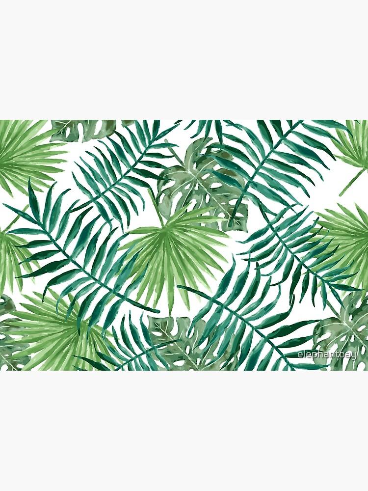 Tropische Palmwedel und Farne von elephantbay