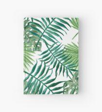 Cuaderno de tapa dura Palmeras y helechos tropicales