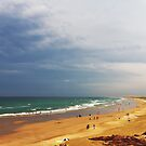 Beach Storm Panorama by Mike Salway