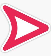 "Snapchat - ""Opened"" Sticker"
