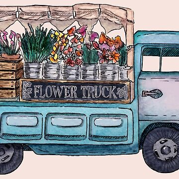 Flower Truck by rebelshop