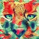 Artificial neural style wild cat by blackhalt