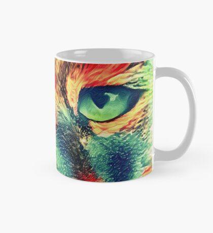 Artificial neural style wild cat Mug