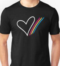 Heart Stripe - T-Shirt Slim Fit T-Shirt