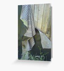 Burberry Greeting Card