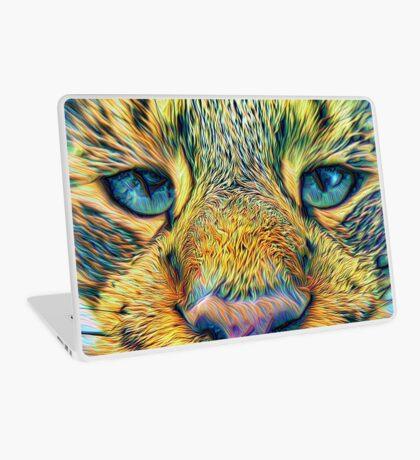 #DeepDreamed Cat v1449127170 Laptop Skin