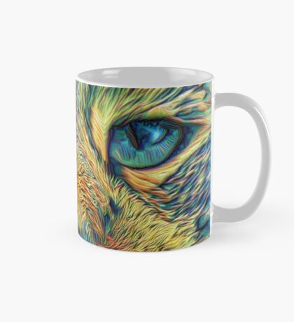 #DeepDreamed Cat v1449127170 Mug