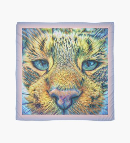 #DeepDreamed Cat v1449127170 Scarf