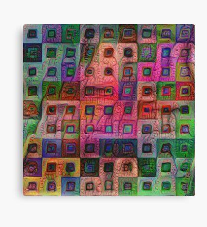 Autumn #DeepDream A Canvas Print