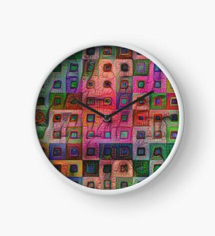 Autumn #DeepDream A Clock