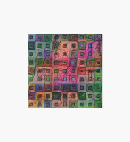 Autumn #DeepDream A Art Board Print