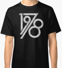 Retro Vintage 1978 - 40th Birthday T-Shirt Classic T-Shirt