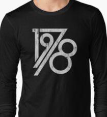 Retro Vintage 1978 - 40th Birthday T-Shirt Long Sleeve T-Shirt