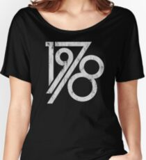 Retro Vintage 1978 - 40th Birthday T-Shirt Women's Relaxed Fit T-Shirt