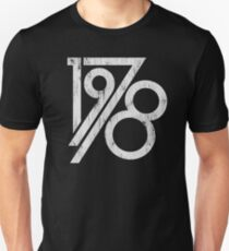 Retro Vintage 1978 - 40th Birthday T-Shirt Unisex T-Shirt