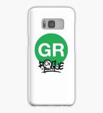 Green Line Washington Metro Washington Raised Me Samsung Galaxy Case/Skin