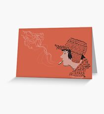 the catcher in the rye Greeting Card