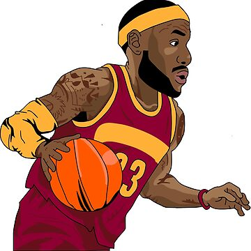 Lebron James Cartoon by bulldog2171
