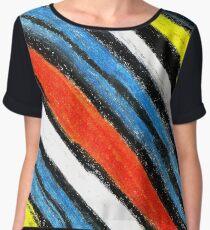 Colored Stripes (original drawing) Chiffon Top