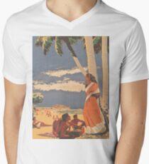 Ceylon Men's V-Neck T-Shirt