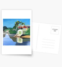 Como Boathouse Postcards