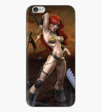 Red Sonja - Full iPhone Case