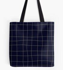 Sapphirine bars of different width Tote Bag