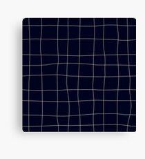 Sapphirine bars of different width Canvas Print