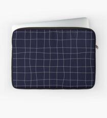 Sapphirine bars of different width Laptop Sleeve