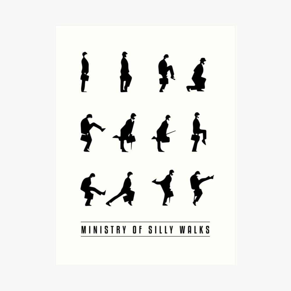 Silly Walks Lámina artística